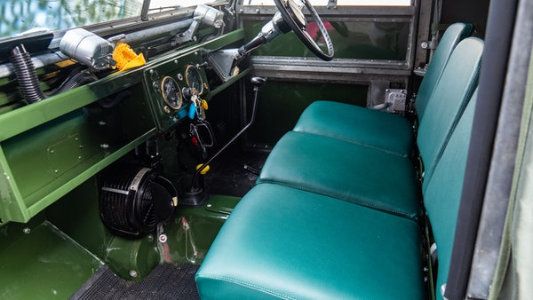 """1956 Land Rover 86"""" Series One For Sale (picture 28 of 243)"""