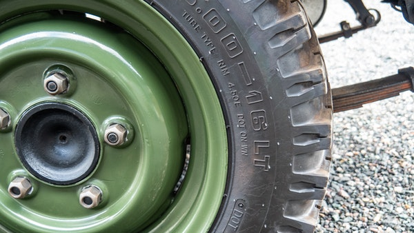 """1956 Land Rover 86"""" Series One For Sale (picture 14 of 243)"""