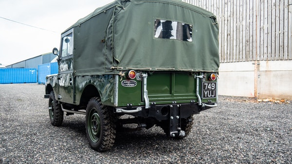"""1956 Land Rover 86"""" Series One For Sale (picture 66 of 243)"""