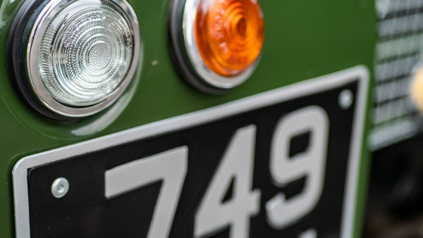 """1956 Land Rover 86"""" Series One For Sale (picture 120 of 243)"""