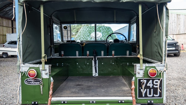 """1956 Land Rover 86"""" Series One For Sale (picture 107 of 243)"""
