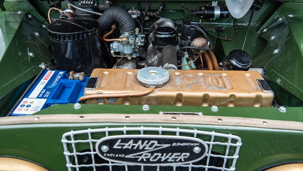 """1956 Land Rover 86"""" Series One For Sale (picture 126 of 243)"""