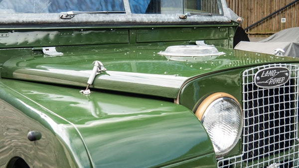 """1956 Land Rover 86"""" Series One For Sale (picture 151 of 243)"""