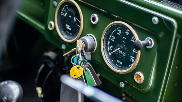"""1956 Land Rover 86"""" Series One For Sale (picture 29 of 243)"""