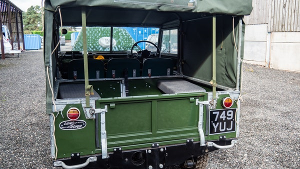 """1956 Land Rover 86"""" Series One For Sale (picture 100 of 243)"""