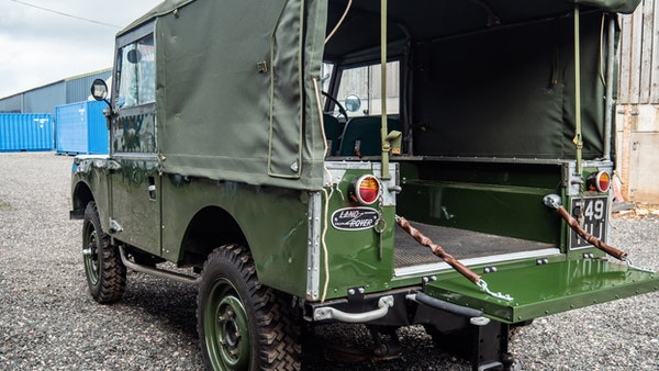 """1956 Land Rover 86"""" Series One For Sale (picture 178 of 243)"""