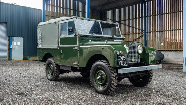 """1956 Land Rover 86"""" Series One For Sale (picture 3 of 243)"""
