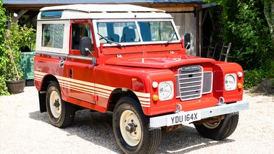 1981 Land Rover Series 3 County Station Wagon