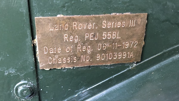 1972 Land Rover Series 3 For Sale (picture 20 of 47)