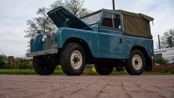 1963 Land Rover Series IIA For Sale (picture 13 of 105)