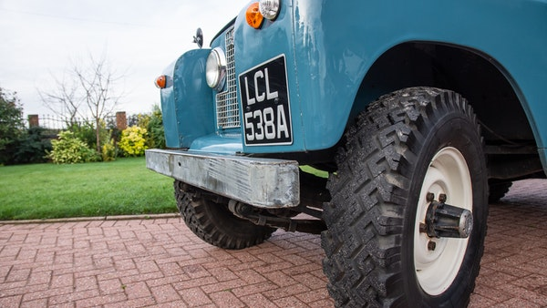 1963 Land Rover Series IIA For Sale (picture 81 of 105)