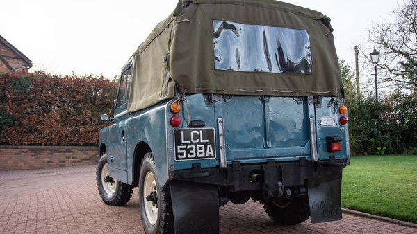 1963 Land Rover Series IIA For Sale (picture 7 of 105)