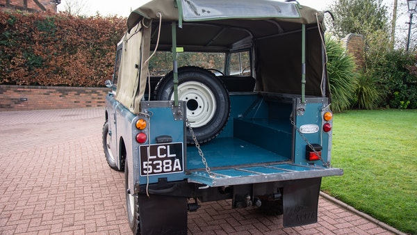 1963 Land Rover Series IIA For Sale (picture 9 of 105)