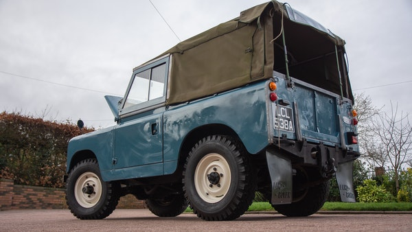 1963 Land Rover Series IIA For Sale (picture 10 of 105)