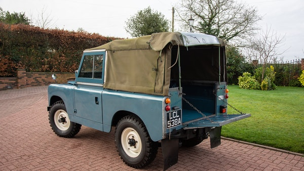 1963 Land Rover Series IIA For Sale (picture 3 of 105)