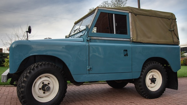 1963 Land Rover Series IIA For Sale (picture 8 of 105)