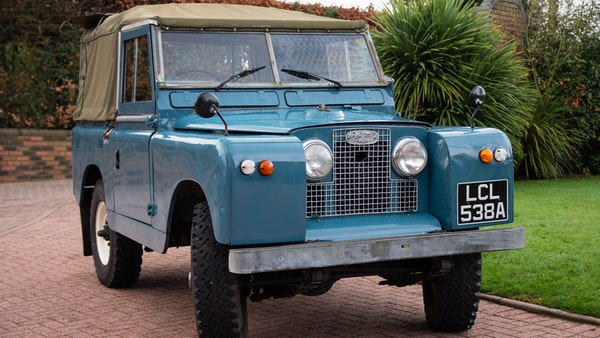 1963 Land Rover Series IIA For Sale (picture 1 of 105)