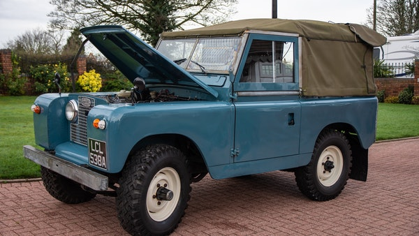 1963 Land Rover Series IIA For Sale (picture 12 of 105)