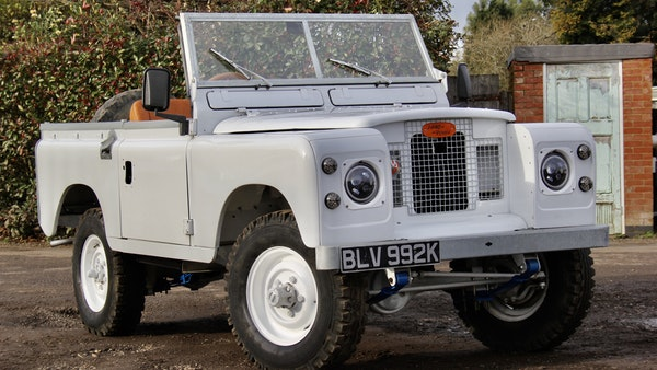 RESERVE LOWERED - 1972 Land Rover Series IIA For Sale (picture 1 of 89)