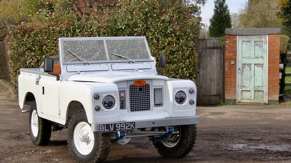 RESERVE LOWERED - 1972 Land Rover Series IIA For Sale (picture 10 of 89)