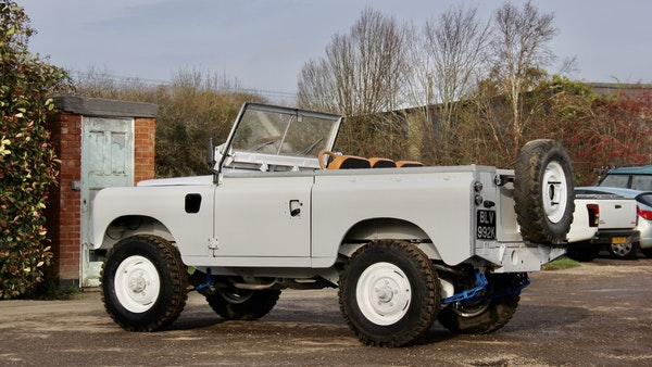 RESERVE LOWERED - 1972 Land Rover Series IIA For Sale (picture 18 of 89)