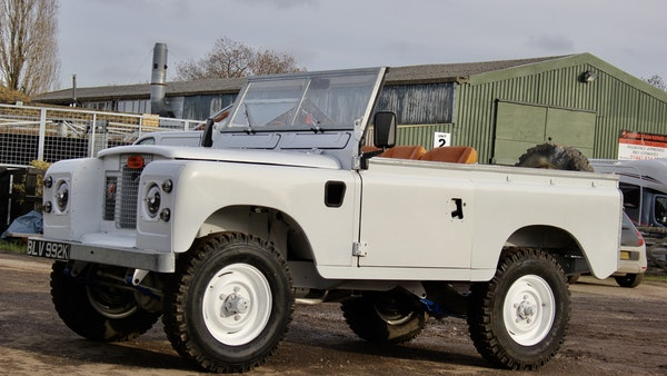 RESERVE LOWERED - 1972 Land Rover Series IIA For Sale (picture 3 of 89)