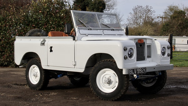 RESERVE LOWERED - 1972 Land Rover Series IIA For Sale (picture 7 of 89)