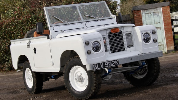 RESERVE LOWERED - 1972 Land Rover Series IIA For Sale (picture 8 of 89)