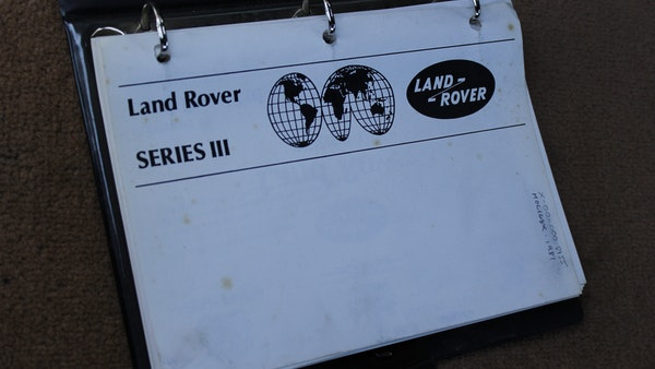 1981 Land Rover Series III For Sale (picture 83 of 115)