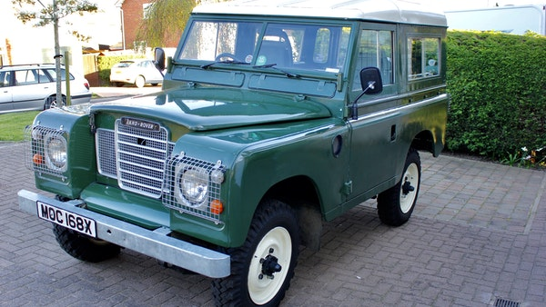 1981 Land Rover Series III For Sale (picture 16 of 115)