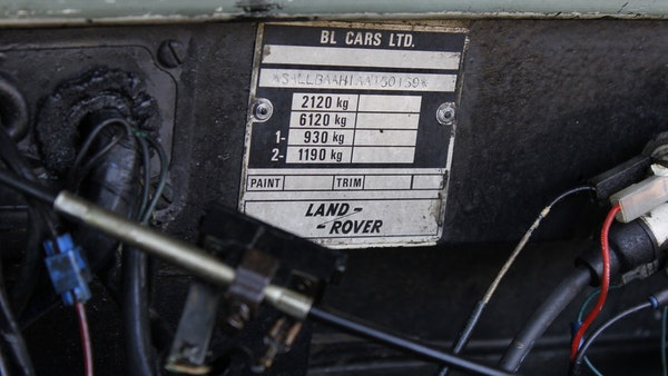 1981 Land Rover Series III For Sale (picture 76 of 115)