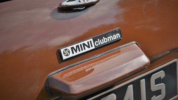 1978 Mini Clubman 1275 For Sale (picture 83 of 201)