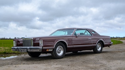 RESERVE REMOVED - 1977 Lincoln Continental