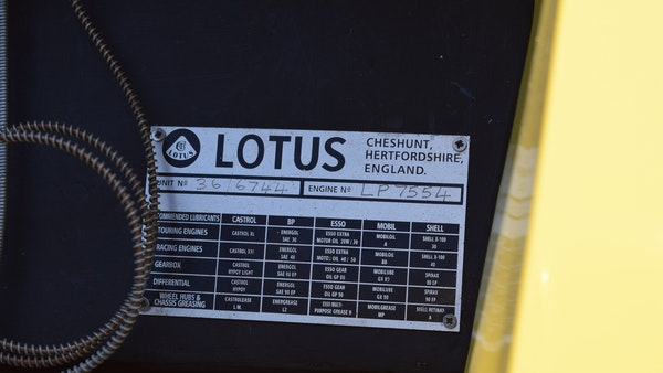 1967 Lotus Elan Series 3 FHC For Sale (picture 41 of 71)