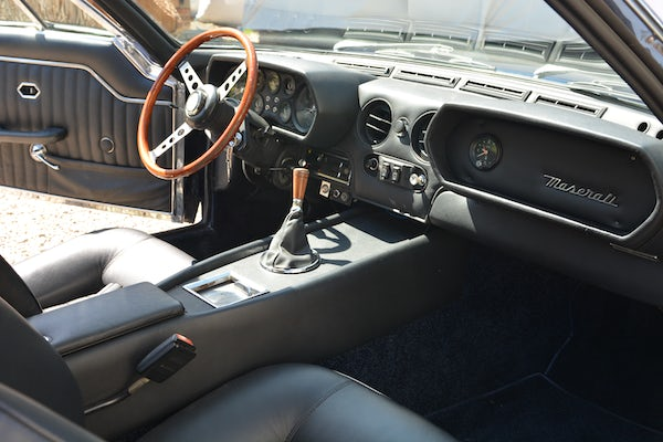1971 MASERATI INDY 4.7 For Sale (picture 69 of 132)