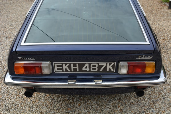 1971 MASERATI INDY 4.7 For Sale (picture 21 of 132)