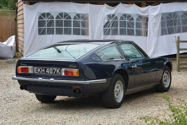 1971 MASERATI INDY 4.7 For Sale (picture 27 of 132)