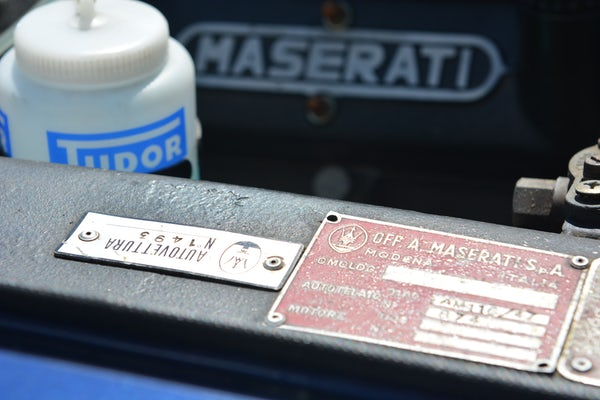 1971 MASERATI INDY 4.7 For Sale (picture 96 of 132)