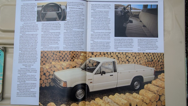 1986 Mazda B2200 Pickup For Sale (picture 80 of 83)