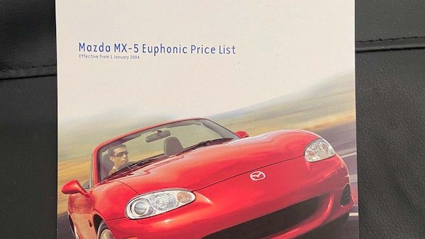 2004 Mazda MX5 Euphonic For Sale (picture 172 of 173)