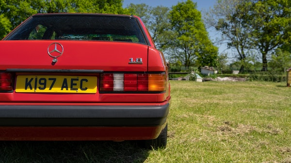 RESERVE LOWERED - 1992 Mercedes-Benz 190E (W201) For Sale (picture 117 of 141)