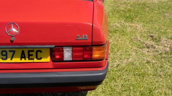 RESERVE LOWERED - 1992 Mercedes-Benz 190E (W201) For Sale (picture 119 of 141)