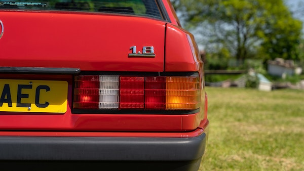 RESERVE LOWERED - 1992 Mercedes-Benz 190E (W201) For Sale (picture 118 of 141)