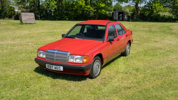 RESERVE LOWERED - 1992 Mercedes-Benz 190E (W201) For Sale (picture 3 of 141)
