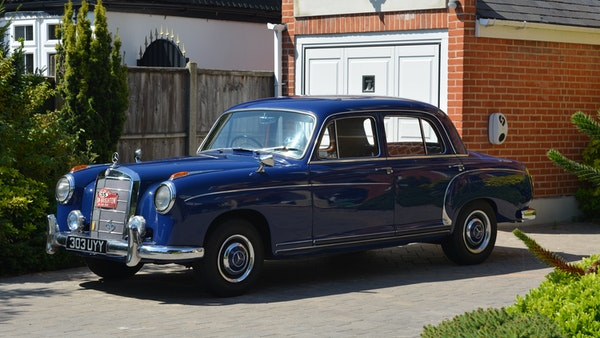 1958 Mercedes-Benz 220S For Sale (picture 33 of 152)