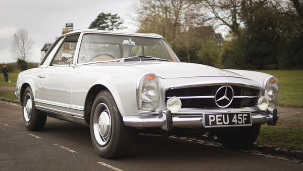 RESERVE LOWERED - 1966 Mercedes-Benz 230 SL 'Pagoda' For Sale (picture 3 of 123)