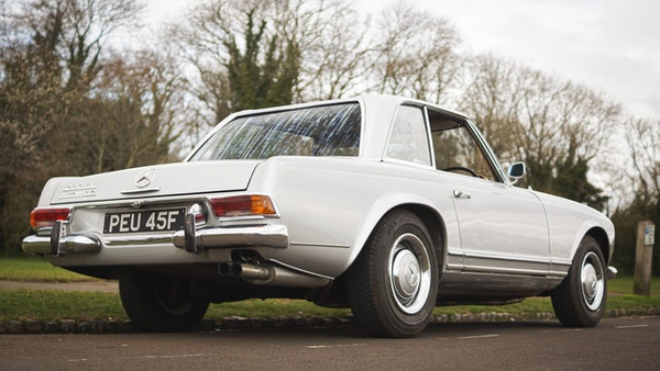 RESERVE LOWERED - 1966 Mercedes-Benz 230 SL 'Pagoda' For Sale (picture 15 of 123)