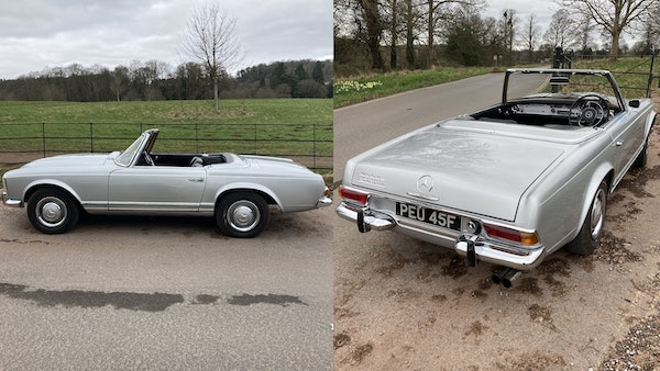 RESERVE LOWERED - 1966 Mercedes-Benz 230 SL 'Pagoda' For Sale (picture 119 of 123)