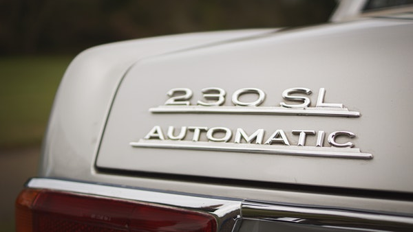 RESERVE LOWERED - 1966 Mercedes-Benz 230 SL 'Pagoda' For Sale (picture 41 of 123)