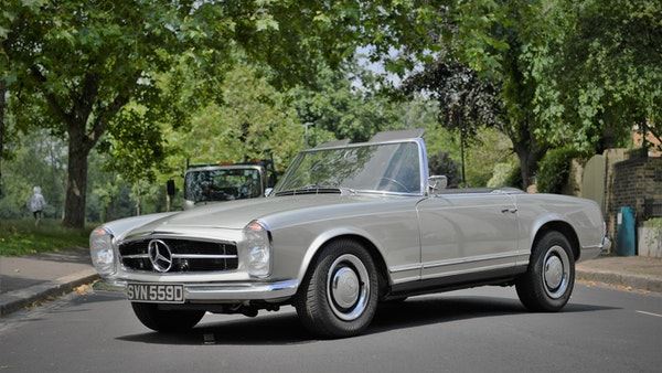 1966 Mercedes 230 SL Pagoda For Sale (picture 5 of 141)